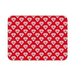 Diamond Pattern Double Sided Flano Blanket (mini)