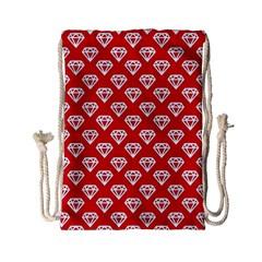 Diamond Pattern Drawstring Bag (Small)