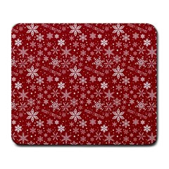 Merry Christmas Pattern Large Mousepads