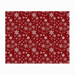 Merry Christmas Pattern Small Glasses Cloth