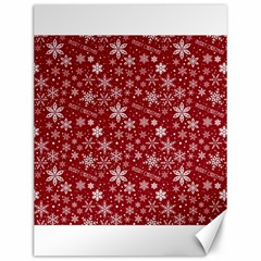 Merry Christmas Pattern Canvas 12  x 16