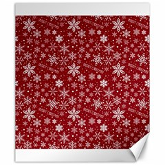 Merry Christmas Pattern Canvas 20  x 24