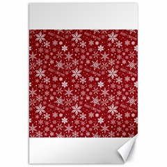 Merry Christmas Pattern Canvas 20  X 30