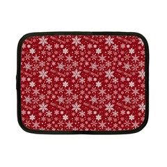 Merry Christmas Pattern Netbook Case (Small)