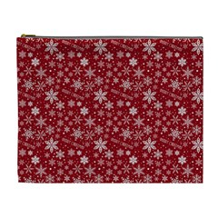 Merry Christmas Pattern Cosmetic Bag (xl)