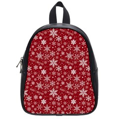 Merry Christmas Pattern School Bags (small)
