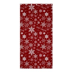 Merry Christmas Pattern Shower Curtain 36  X 72  (stall)