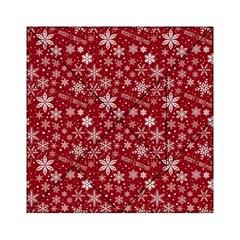 Merry Christmas Pattern Acrylic Tangram Puzzle (6  X 6 )