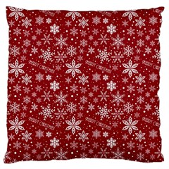 Merry Christmas Pattern Large Cushion Case (one Side)
