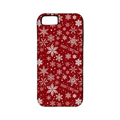 Merry Christmas Pattern Apple Iphone 5 Classic Hardshell Case (pc+silicone)
