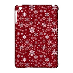 Merry Christmas Pattern Apple Ipad Mini Hardshell Case (compatible With Smart Cover)