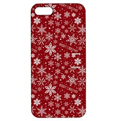 Merry Christmas Pattern Apple Iphone 5 Hardshell Case With Stand