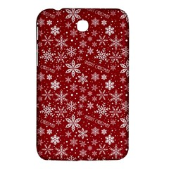 Merry Christmas Pattern Samsung Galaxy Tab 3 (7 ) P3200 Hardshell Case
