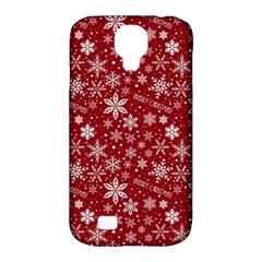 Merry Christmas Pattern Samsung Galaxy S4 Classic Hardshell Case (pc+silicone)