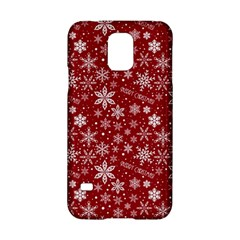 Merry Christmas Pattern Samsung Galaxy S5 Hardshell Case