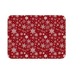 Merry Christmas Pattern Double Sided Flano Blanket (Mini)