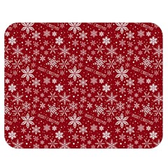 Merry Christmas Pattern Double Sided Flano Blanket (medium)