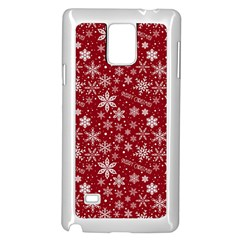 Merry Christmas Pattern Samsung Galaxy Note 4 Case (white)