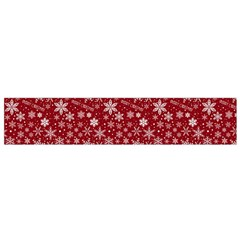 Merry Christmas Pattern Flano Scarf (Small)