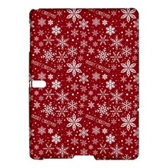 Merry Christmas Pattern Samsung Galaxy Tab S (10.5 ) Hardshell Case