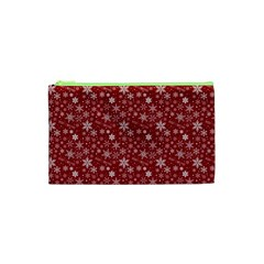 Merry Christmas Pattern Cosmetic Bag (XS)