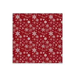 Merry Christmas Pattern Satin Bandana Scarf