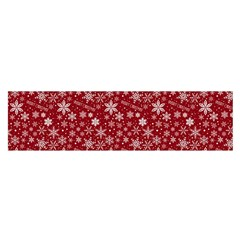 Merry Christmas Pattern Satin Scarf (oblong)