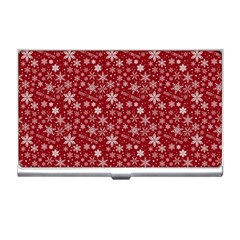 Merry Christmas Pattern Business Card Holders