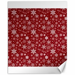 Merry Christmas Pattern Canvas 16  x 20