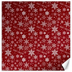 Merry Christmas Pattern Canvas 20  x 20