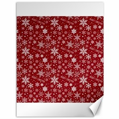 Merry Christmas Pattern Canvas 36  x 48