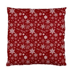 Merry Christmas Pattern Standard Cushion Case (One Side)