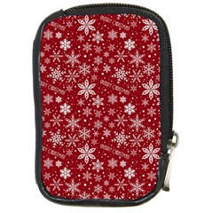 Merry Christmas Pattern Compact Camera Cases