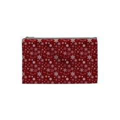 Merry Christmas Pattern Cosmetic Bag (small)