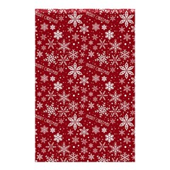 Merry Christmas Pattern Shower Curtain 48  x 72  (Small)