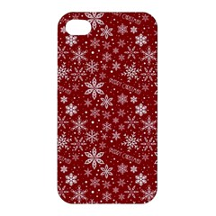 Merry Christmas Pattern Apple iPhone 4/4S Hardshell Case