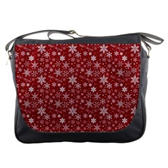 Merry Christmas Pattern Messenger Bags