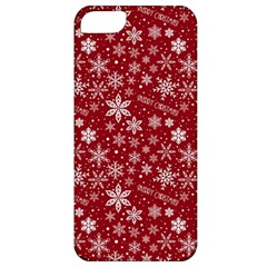 Merry Christmas Pattern Apple iPhone 5 Classic Hardshell Case