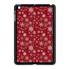Merry Christmas Pattern Apple Ipad Mini Case (black)
