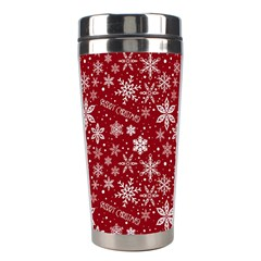 Merry Christmas Pattern Stainless Steel Travel Tumblers