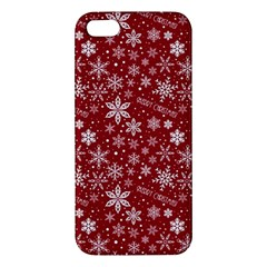 Merry Christmas Pattern Iphone 5s/ Se Premium Hardshell Case