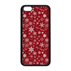 Merry Christmas Pattern Apple Iphone 5c Seamless Case (black)