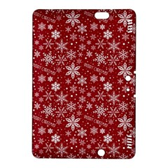 Merry Christmas Pattern Kindle Fire Hdx 8 9  Hardshell Case