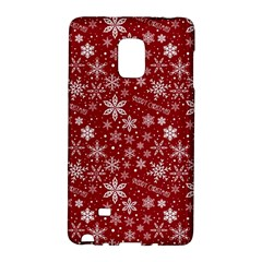 Merry Christmas Pattern Galaxy Note Edge