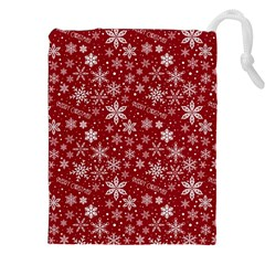 Merry Christmas Pattern Drawstring Pouches (xxl)
