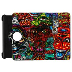 Abstract Psychedelic Face Nightmare Eyes Font Horror Fantasy Artwork Kindle Fire Hd 7