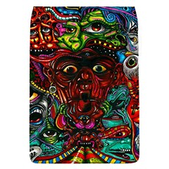 Abstract Psychedelic Face Nightmare Eyes Font Horror Fantasy Artwork Flap Covers (l)