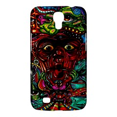 Abstract Psychedelic Face Nightmare Eyes Font Horror Fantasy Artwork Samsung Galaxy Mega 6 3  I9200 Hardshell Case