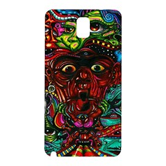 Abstract Psychedelic Face Nightmare Eyes Font Horror Fantasy Artwork Samsung Galaxy Note 3 N9005 Hardshell Back Case