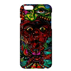 Abstract Psychedelic Face Nightmare Eyes Font Horror Fantasy Artwork Apple Iphone 6 Plus/6s Plus Hardshell Case